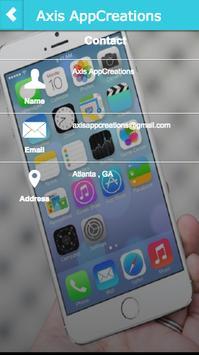 Axis AppCreations screenshot 5