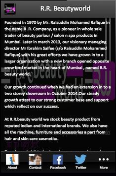 R.R. Beautyworld poster