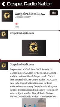 Gospel Radio Nation poster