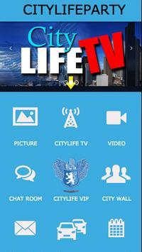 CITYLIFEPARTY poster