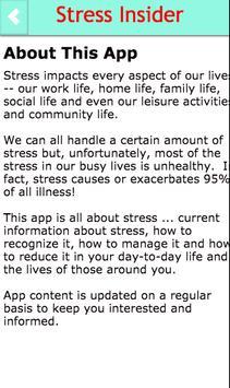 Stress Insider poster