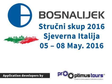 Bosnalijek Italija 2016 screenshot 2
