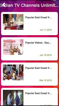 Indian TV Live - Unlimited poster