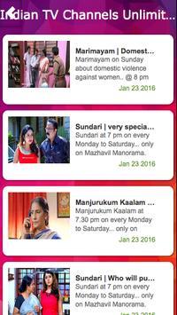 Indian TV Live - Unlimited screenshot 1