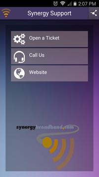 Synergy Fiber Support poster