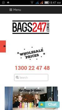 Bags247.com.au poster