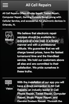 Cell Phone Repair poster