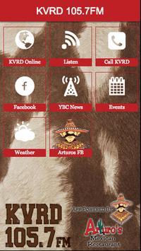 KVRD 105.7FM poster