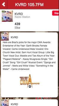 KVRD 105.7FM apk screenshot