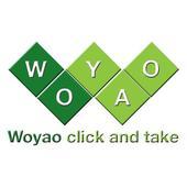 Woyao...click and take icon
