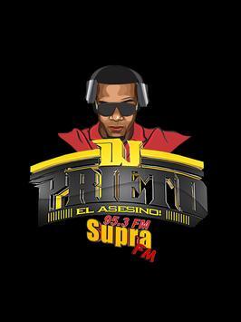 DJ PRIETO poster
