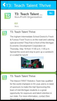 T3 Teach Talent Thrive poster