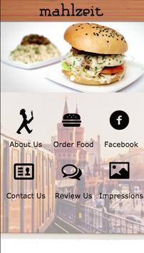 Mahlzeit poster