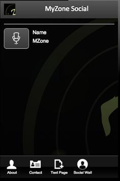 MyZone Social apk screenshot
