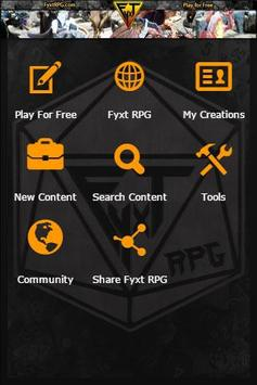 Play the Fyxt RPG for Free poster