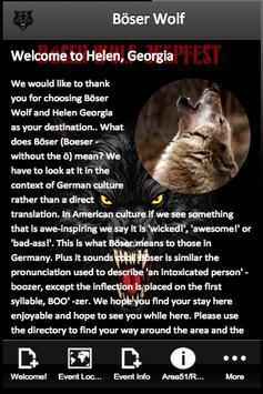 Böser Wolf poster