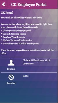 CK Employee Portal apk screenshot