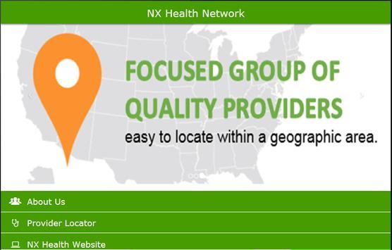 NX Health Network apk screenshot