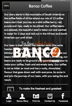 Banco Coffee poster