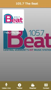 105.7 The Beat poster