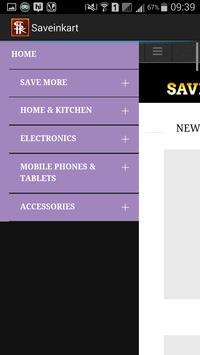 SaveInKart apk screenshot