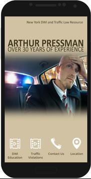 Arthur Pressman Law poster