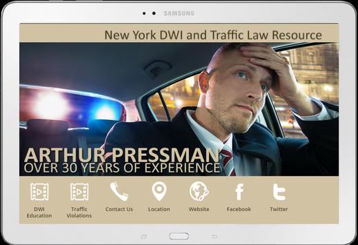 Arthur Pressman Law screenshot 1