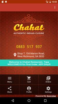 Chahat Restaurant. screenshot 1