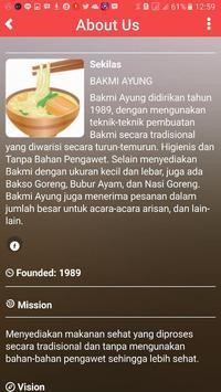 Bakmi Ayung apk screenshot