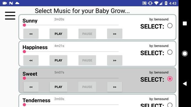 BabyGrow apk screenshot