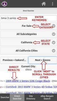 Search ALL for Craigslist Find apk screenshot