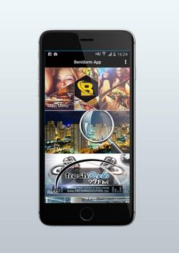 The Benidorm App poster