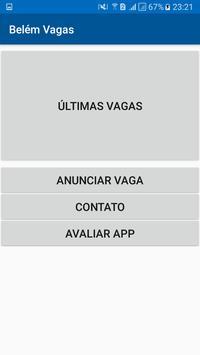 Belém Vagas poster