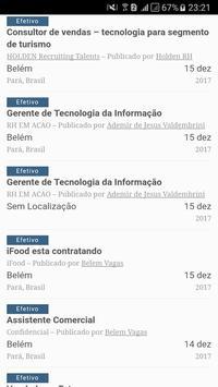 Belém Vagas screenshot 1