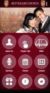 Better Life Church poster