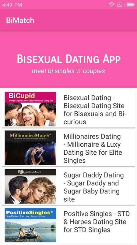 bisexual dating app for android