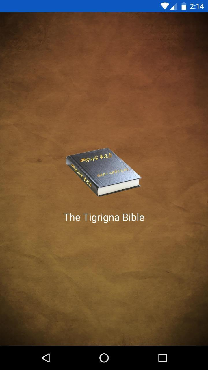 Holy Bible - Tigrigna Pro for Android - APK Download