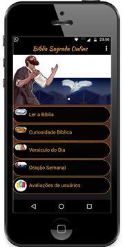 Bíblia Sagrada Online Grátis poster
