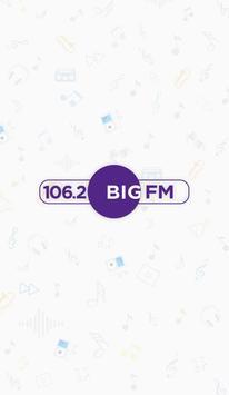 106.2 Big FM poster