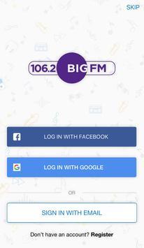 106.2 Big FM screenshot 1