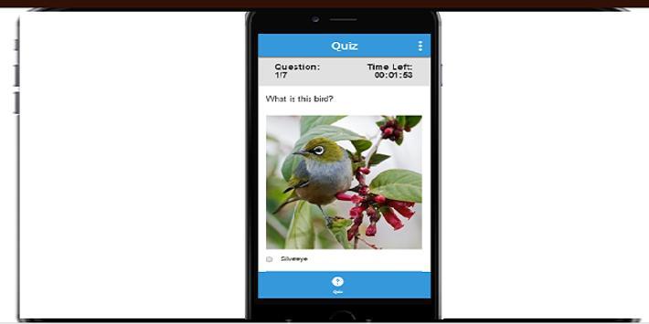 NZ Bird Quiz screenshot 1