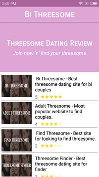 Threesome Dating: Bi Threesome Finder Chat & Meet poster