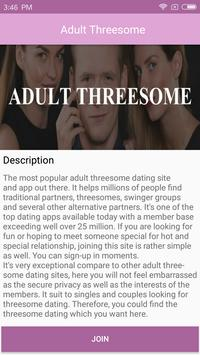 Threesome Dating: Bi Threesome Finder Chat & Meet screenshot 2