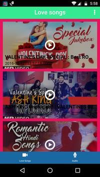 Valentine Love Songs poster
