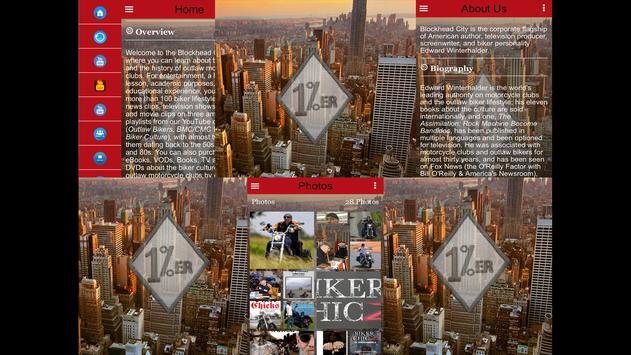 Blockhead City poster