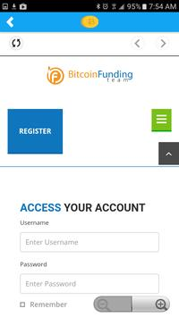 BTC Funder Companion apk screenshot