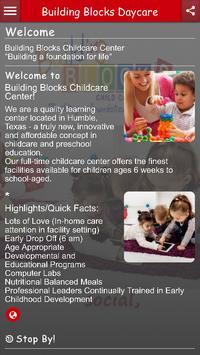 Building Blocks Daycare poster