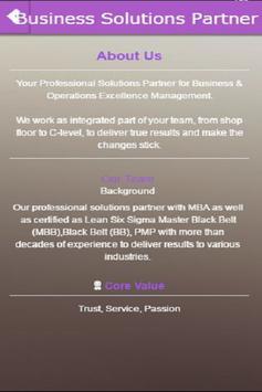 Business Solutions Partner screenshot 1