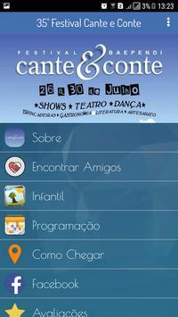 Cante e Conte Festival apk screenshot