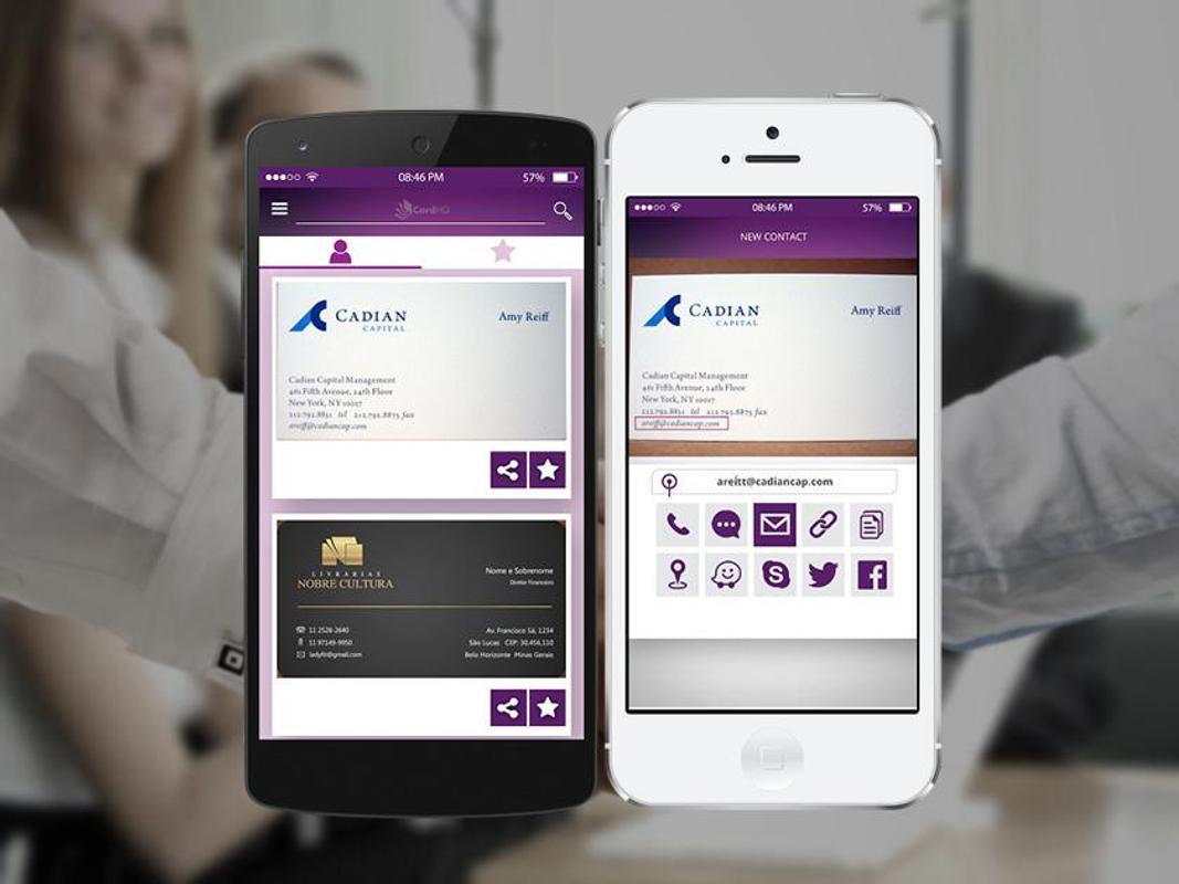 CardHQ - Business Card Reader APK Download - Free Business APP for ...